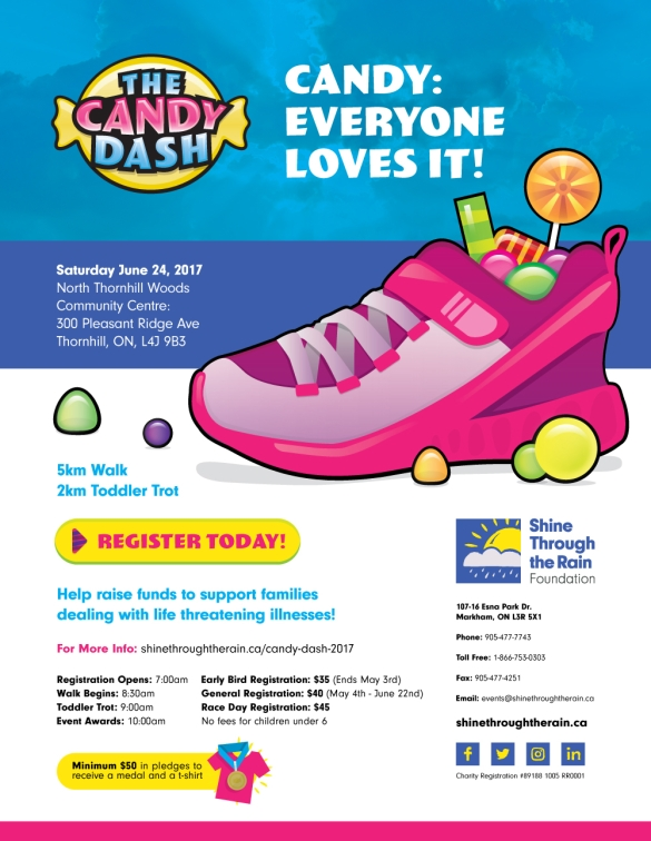 Candy Dash Poster Vaughan