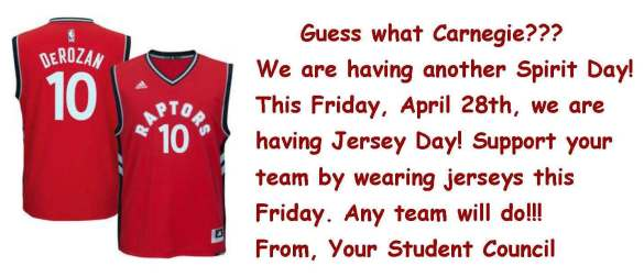 Jersey Day Blog Post