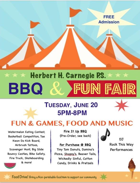 HHC Fun Fair 2017 Flyer