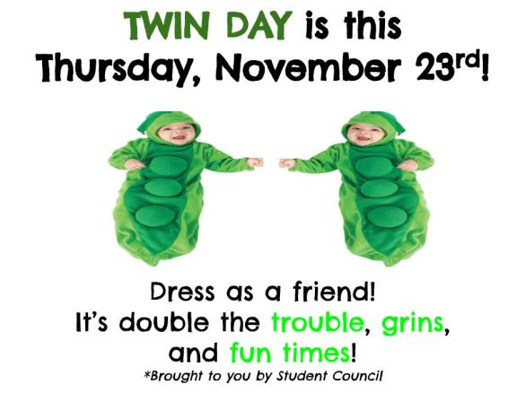 Twin Day Poster