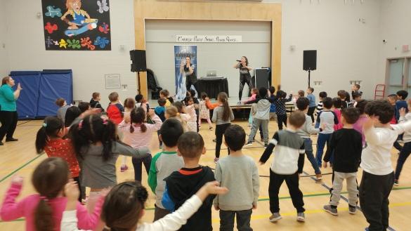 Dance-a-thon Kindergarten