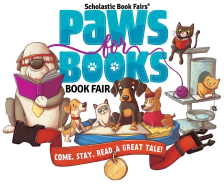 Paws for Books Book Fair