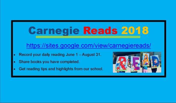 Carnegie Reads 2018