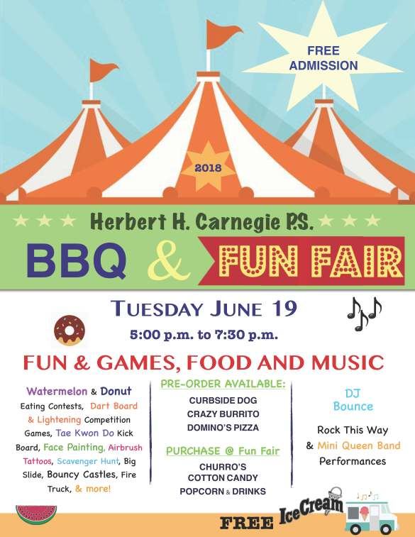 HHC Fun Fair 2018 Flyer